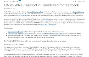 http://backchannel.org/blog/oauth-wrap-friendfeed