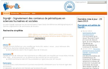http://doc.sciencespo-lyon.fr/Signal/index.php?r=site/index
