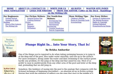 http://www.writing-world.com/fiction/plunge.shtml