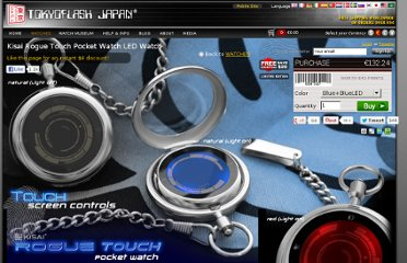 http://www.tokyoflash.com/en/watches/kisai/rogue_touch_pocket_watch/