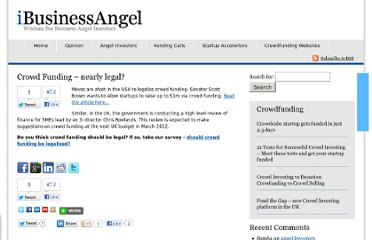 http://www.ibusinessangel.com/2012/01/crowd-funding-nearly-legal/