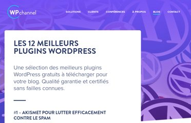 http://wpchannel.com/12-meilleurs-plugins-wordpress/