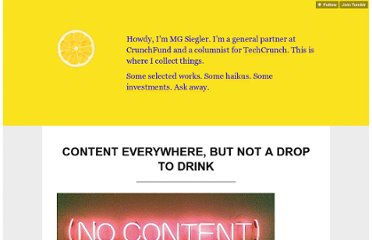 http://parislemon.com/post/17527312140/content-everywhere-but-not-a-drop-to-drink