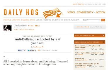http://www.dailykos.com/story/2011/06/29/988552/-Anti-Bullying-schooled-by-a-6-year-old