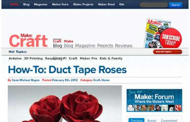http://blog.makezine.com/2012/02/09/how-to-duct-tape-roses/