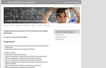 http://ime.math.arizona.edu/progressions/