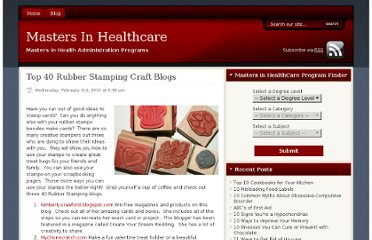 http://www.mastersinhealthcare.net/blog/2010/top-40-rubber-stamping-craft-blogs/