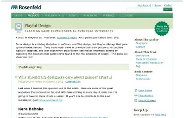 http://www.rosenfeldmedia.com/books/game-design/