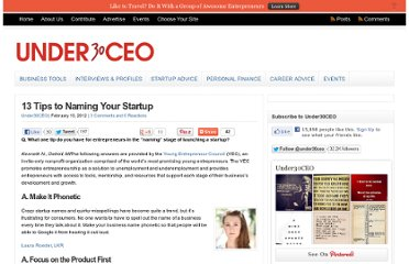 http://under30ceo.com/13-tips-to-naming-your-startup/