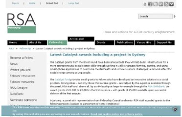 http://www.thersa.org/fellowship/news/latest-catalyst-awards-including-a-project-in-sydney