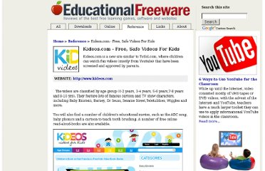 http://www.educational-freeware.com/reference/kideos.aspx