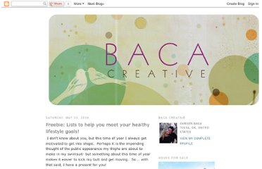 http://bacacreative.blogspot.com/2009/05/freebie-lists-to-help-you-meet-your.html
