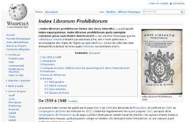 http://fr.wikipedia.org/wiki/Index_Librorum_Prohibitorum