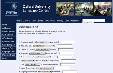 http://www.lang.ox.ac.uk/courses/tst_placement_english.html