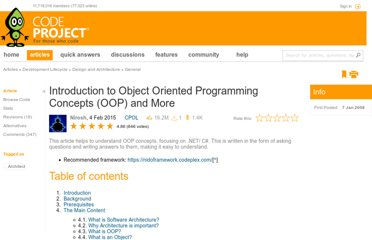 http://www.codeproject.com/Articles/22769/Introduction-to-Object-Oriented-Programming-Concep#OOP