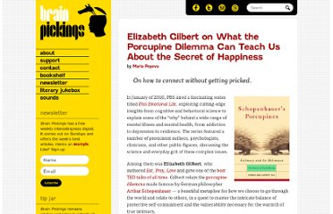 http://www.brainpickings.org/index.php/2012/02/13/elizabeth-gilbert-porcupines/