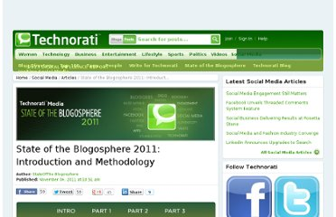 http://technorati.com/social-media/article/state-of-the-blogosphere-2011-introduction/