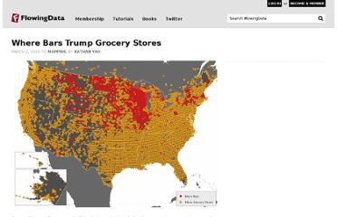 http://flowingdata.com/2010/03/02/where-bars-trump-grocery-stores/