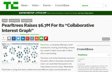 http://techcrunch.com/2012/02/13/pearltrees-raises-6-7m-boasts-of-collaborative-interest-graph/
