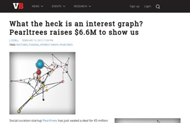 http://venturebeat.com/2012/02/13/pearltrees-funding-interest-graph/