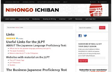 http://nihongoichiban.com/useful-links/