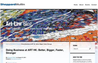http://www.artlawgallery.com/2011/08/articles/international/doing-business-at-art-hk-better-bigger-faster-stronger/