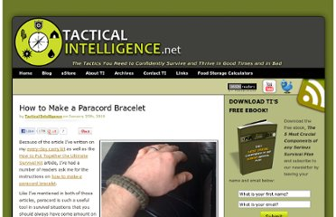 http://www.tacticalintelligence.net/blog/how-to-make-a-paracord-bracelet.htm