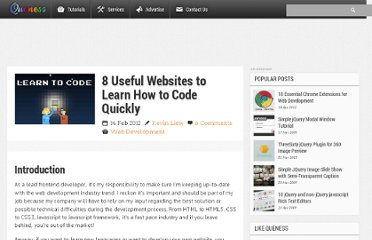http://www.queness.com/post/10709/8-useful-websites-to-learn-how-to-code-quickly