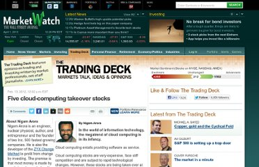 http://www.marketwatch.com/story/five-cloud-computing-takeover-stocks-2012-02-13