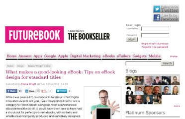 http://www.futurebook.net/content/what-makes-good-looking-ebook-tips-ebook-design-standard-titles