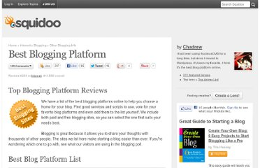 http://www.squidoo.com/best-blogging-platform