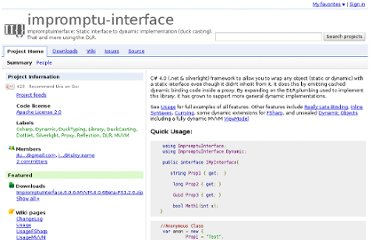 http://code.google.com/p/impromptu-interface/