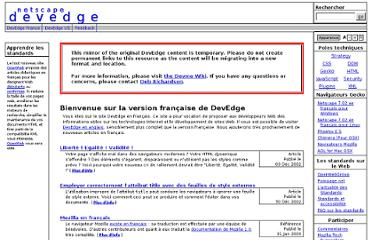 http://devedge-temp.mozilla.org/index_fr.html