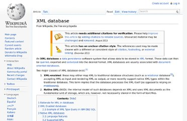 http://en.wikipedia.org/wiki/XML_database