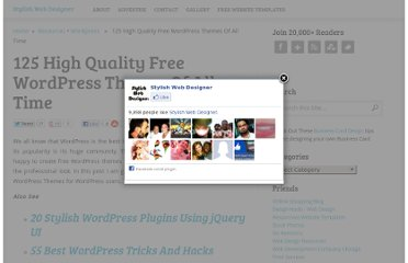 http://stylishwebdesigner.com/125-high-quality-free-wordpress-themes-of-all-time/