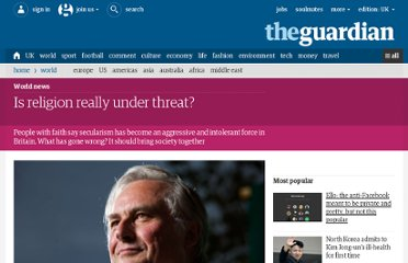 http://www.guardian.co.uk/world/2012/feb/14/is-religion-really-under-threat