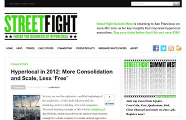 http://streetfightmag.com/2011/12/29/hyperlocal-in-2012-more-consolidation-and-scale-less-free/