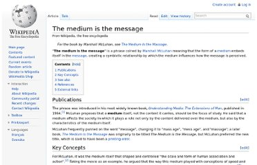 http://en.wikipedia.org/wiki/The_medium_is_the_message