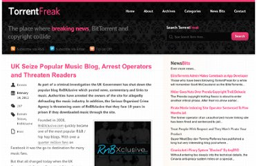 http://torrentfreak.com/uk-seize-popular-music-blog-arrest-operators-and-threaten-readers-120214/