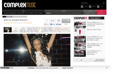 http://www.complex.com/music/2012/02/who-is-azealia-banks#1