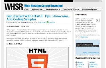 http://www.webhostingsecretrevealed.com/featured-articles/10-must-know-html5-tips-tricks-with-sample-codes/