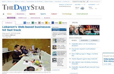 http://www.dailystar.com.lb/Business/Lebanon/2012/Feb-15/163298-lebanons-web-based-businesses-hit-fast-track.ashx#axzz1mREdUH31