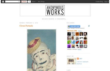 http://anonymousworks.blogspot.com/2012/02/clown-portraits.html
