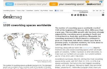 http://www.deskmag.com/en/1320-coworking-spaces-worldwide-208