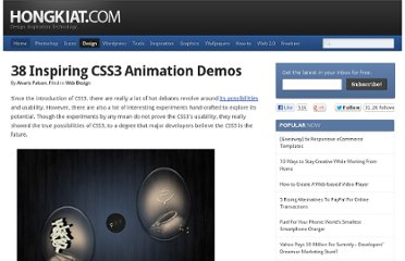 http://www.hongkiat.com/blog/css3-animation-transition-demos/