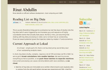 http://abdullin.com/journal/2012/2/13/reading-list-on-big-data.html