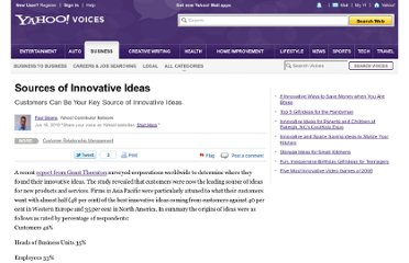 http://voices.yahoo.com/sources-innovative-ideas-6185898.html
