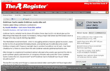 http://www.theregister.co.uk/2009/04/10/goldman_sucks_site_suit/
