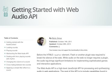 http://www.html5rocks.com/en/tutorials/webaudio/intro/