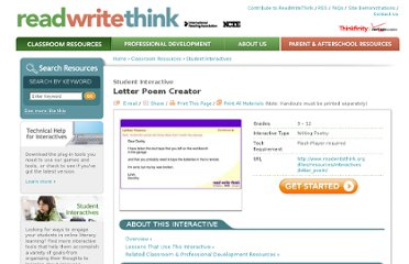 http://www.readwritethink.org/classroom-resources/student-interactives/letter-poem-creator-30019.html